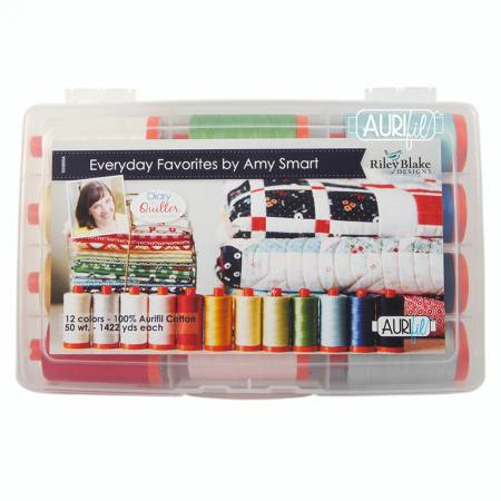 Amy Smart Everyday Favorites Thread Collection 50wt 12 Large Spools