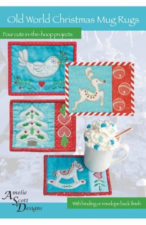 Old World Christmas Mug Rugs