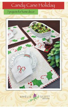Candy Cane Holiday 7 home dec projects