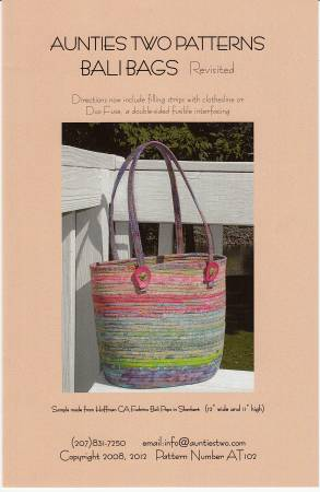 Bali Bags - Fabric Covered Clothesline Crafts - AT102