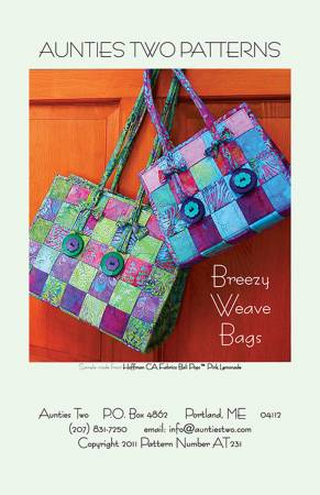 PT S Aunties Two Breezy Weave Bags