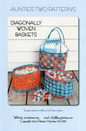 Diagonally Woven Baskets