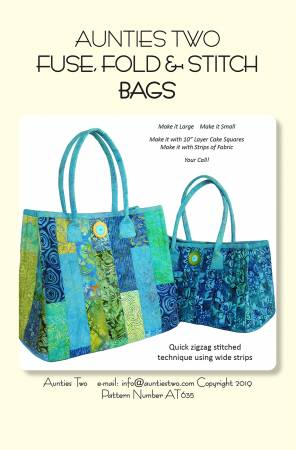 Fuse Fold and Stitch Bags
