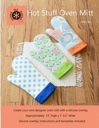 Hot Stuff Oven Mitt Silicone Mit with Pattern