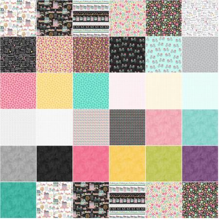 10in Squares At Home, 42pcs/bundle