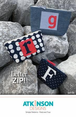 Letter Zip Bag (Atkinson Designs)