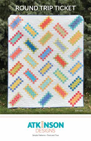 Round Trip Ticket Quilt Pattern