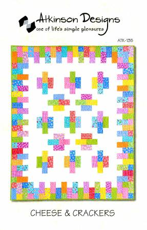 Cheese & Crackers Quilt Pattern by Atkinson Designs