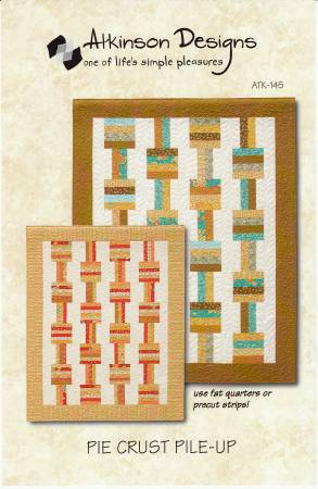 Pie Crust Pile-Up Quilt Pattern by Atkinson Designs