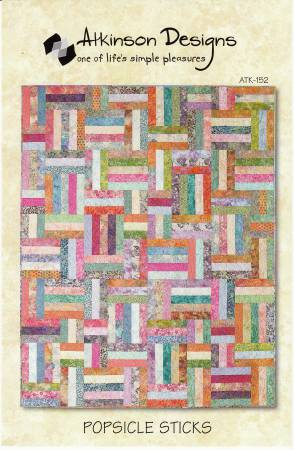 Popsicle Sticks Quilt Pattern