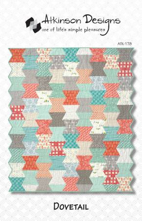 Dovetail Quilt Pattern by Atkinson Designs ATK178