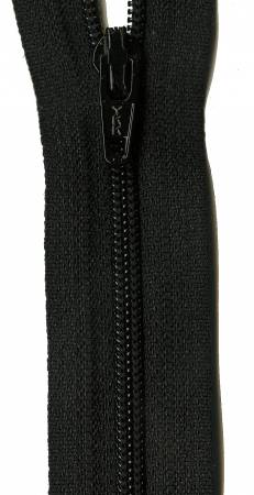 14in Basic Black YKK Zipper - 301
