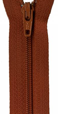 Zipper - Gingerbread 14in, by YKK for Atkinson Designs