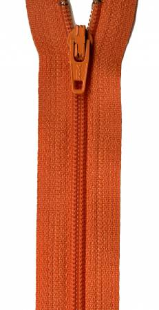 Orange Peel 14in YKK Zipper