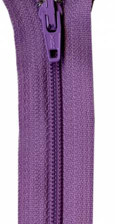 Lilac 14in YKK Zipper