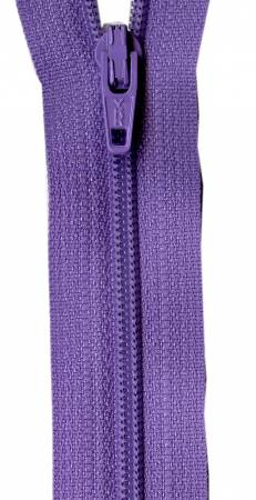 Princess Purple 14in Bulk YKK Zipper