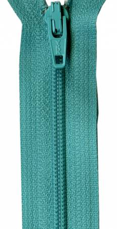 Tahiti Teal 14in Bulk YKK Zipper