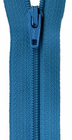 14in Turquoise Splash Zipper