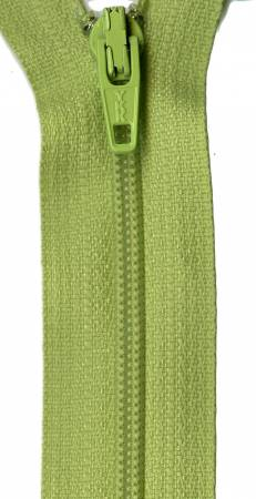 Zipper - Key Lime 14in, by YKK for Atkinson Designs