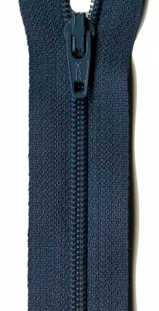 Bristol Blue 14in YKK Zipper