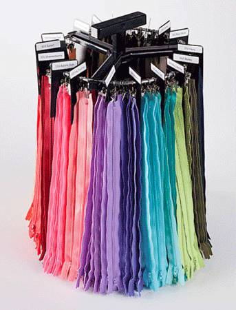 14 Zipper Assorted Colors