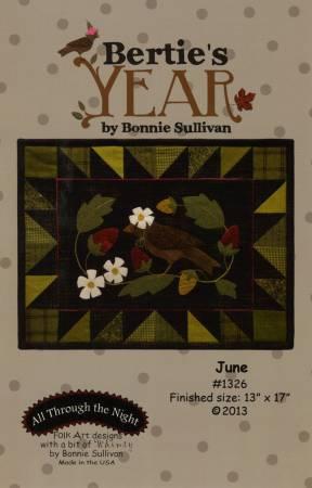 Bertie's Year - June - Pattern Only