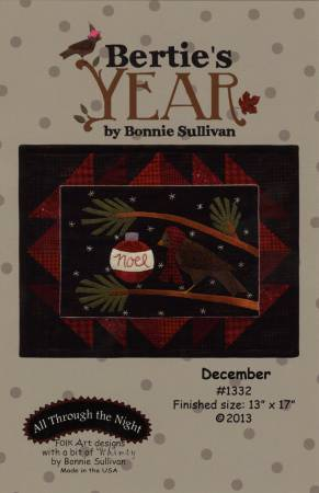 Bertie's Year-December, Pattern Only
