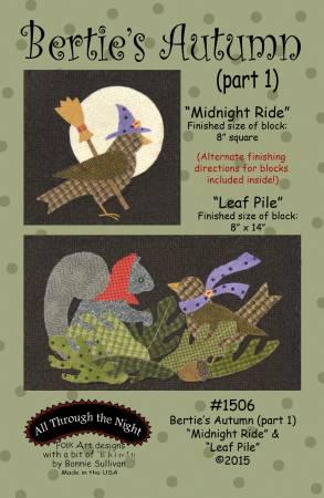 Bertie's Autumn 1 Midnight Ride & Leaf Pile