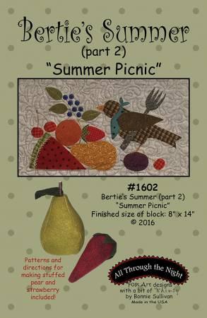 Bertie's Summer 2 Summer Picnic