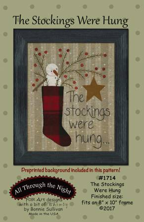 The Stockings were Hung all through the night