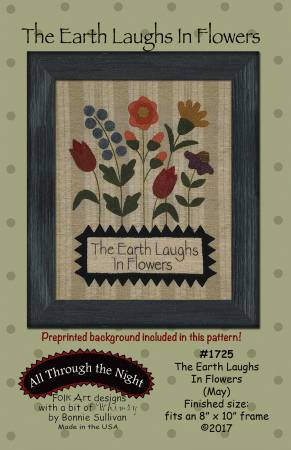 The Earth Laughs in Flowers - May Pattern