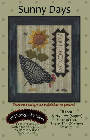 Sunny Days Pattern - August by Bonnie Sullivan