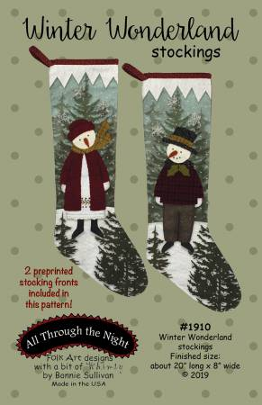 All Through the Night - Winter Wonderland Stockings
