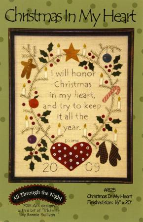 Christmas in My Heart Pattern