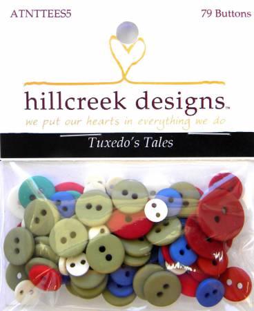 Tuxedo Tales Button Set