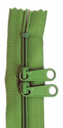 Handbag 24in Grass Green Zipper Double Slide