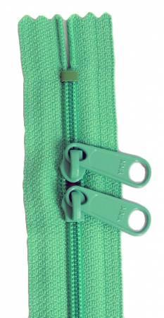 Handbag 24in Mint Zipper Double Slide