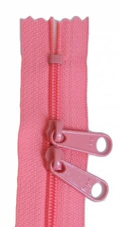 Handbag 24in Salmon Zipper Double Slide