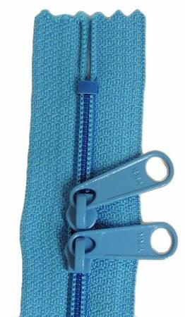 Handbag 24in Teal Zipper Double Slide