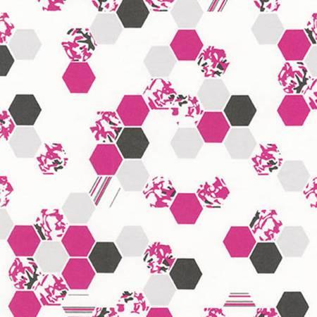 Palm Canyon AVL-17460-10 Pink Honeycomb