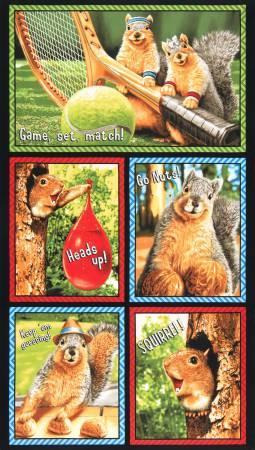 Bright Squirrel Panel