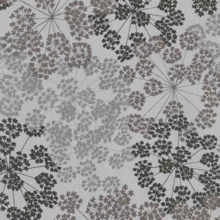 Charcoal Floral-108in Wide-16064-184