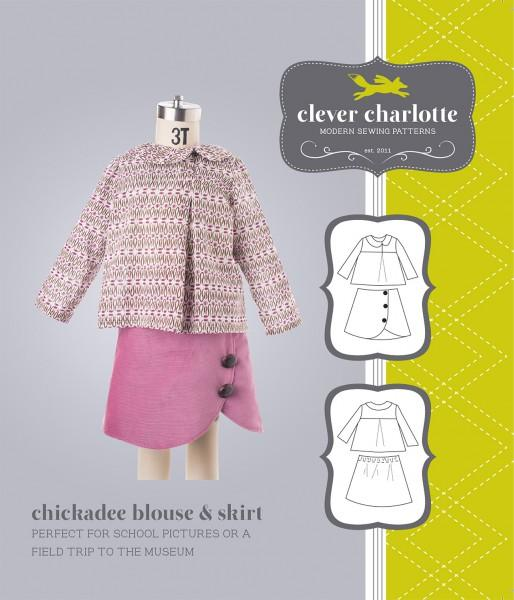 Chickadee Blouse & Skirt