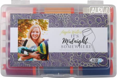 Its Midnight Somewhere by Angela Walters 50wt 12 Large Spools