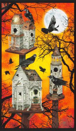 Panel- Raven Moon Bird Houses