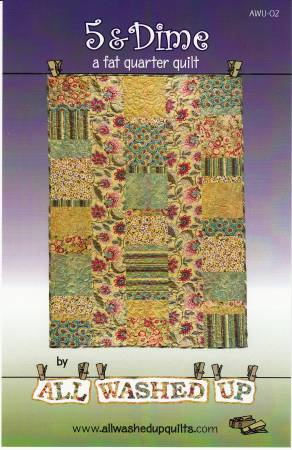 5 & Dime Revised by allwashedupquilts AWU-02