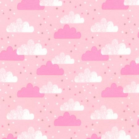 Pink Clouds Flannel KAU092319