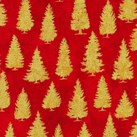 Red Winter's Grandeur w/Metallic