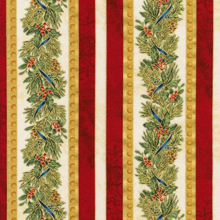 Winter's Grandeur w/Metallic Holiday AXBM-19336