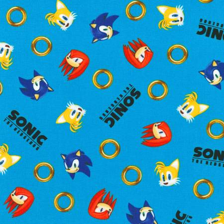 Blue Sonic the Hedgehog
